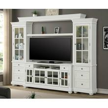 """See Details - CAPE COD 4 piece 63"""" Entertainment Wall"""