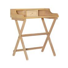 See Details - Dakota Folding Desk Natural