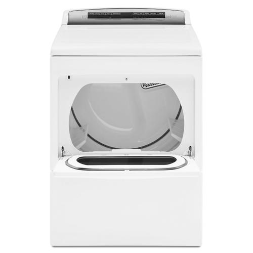 Whirlpool WED7500GW   7.4 cu. ft. Top Load Electric Dryer with AccuDry Sensor Drying Technology White