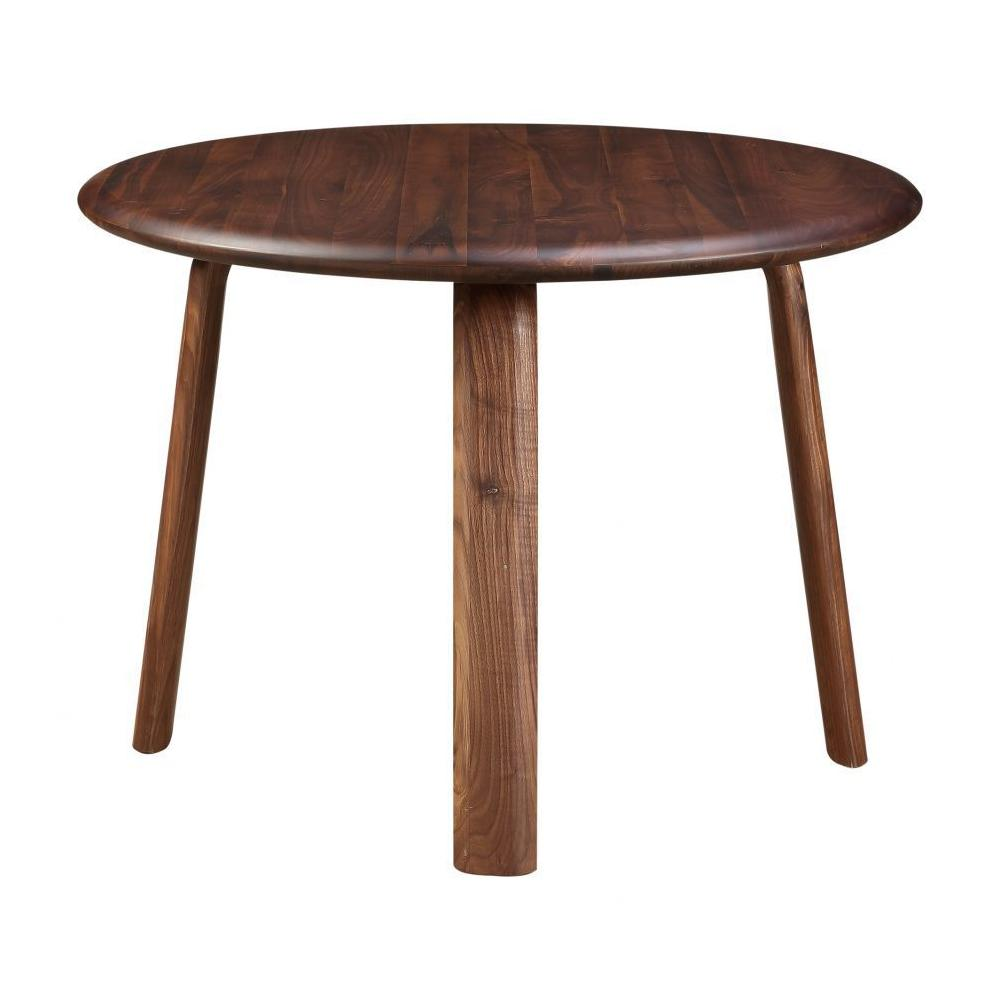 Malibu Round Dining Table Walnut