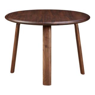 Malibu Round Dining Table Walnut