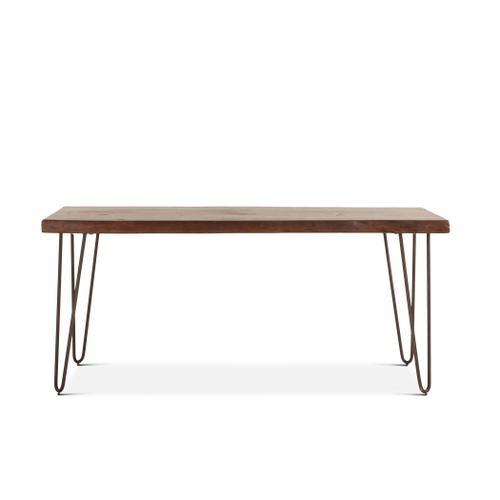 """Vail 68"""" Dining Table Walnut"""