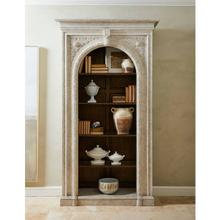 See Details - Thoroughbred Citation Bookcase - White Gesso