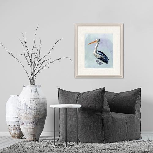 Watercolor Beach Bird IV
