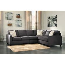 View Product - Alenya II Sectional Charcoal Right