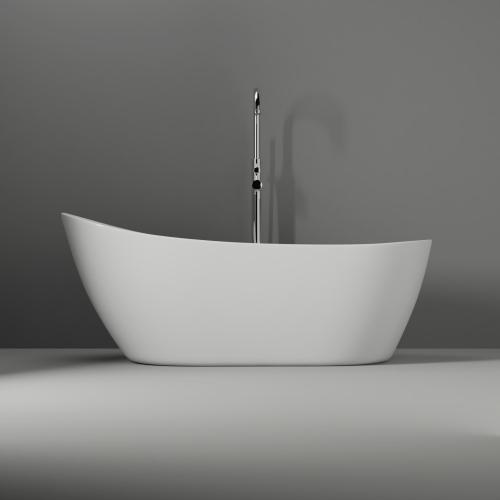 "Lovina 66"" Acrylic Slipper Tub"