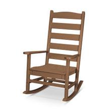 View Product - Shaker Porch Rocking Chair in Teak