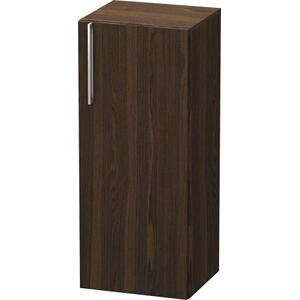 Semi-tall Cabinet, Brushed Walnut (real Wood Veneer)