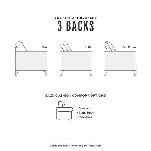 Bassett Furniture - Custom Upholstery Classic Sofa 3/3