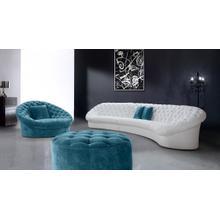 See Details - Divani Casa Cosmopolitan - Modern Tufted Fabric Sectional Sofa