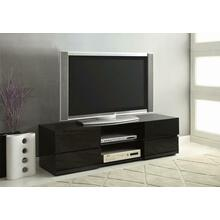 Coaster 700841 Glossy Black TV Console