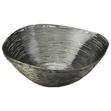 This distinctive decorative bowl is certain to be the finishing touch in your space. Featuring a stainless steel finish, it is hand crafted from stainless steel.