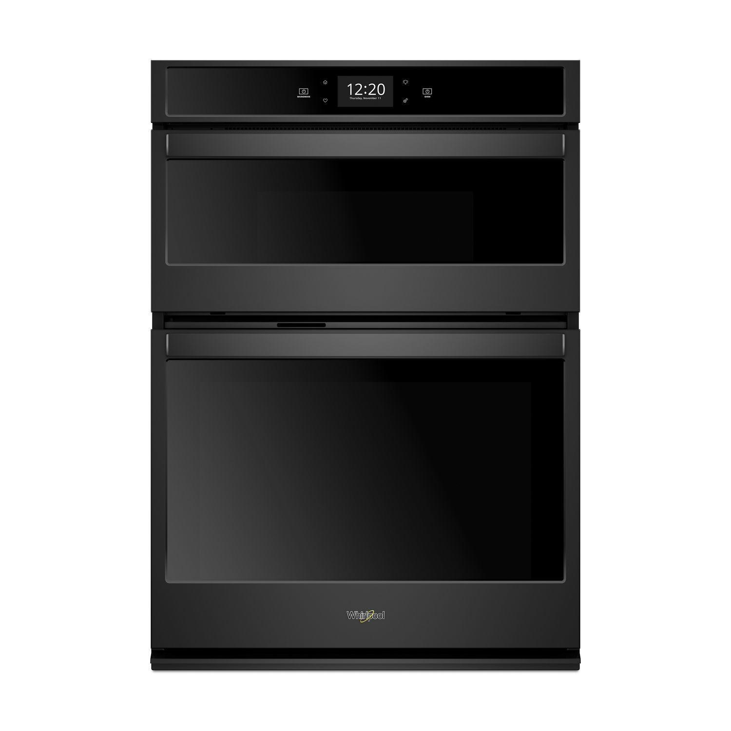 Whirlpool6.4 Cu. Ft. Smart Combination Wall Oven With Touchscreen Black