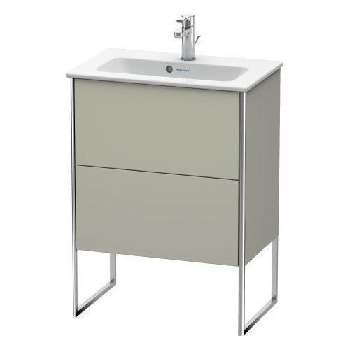 Duravit - Vanity Unit Floorstanding Compact, Taupe Satin Matte (lacquer)