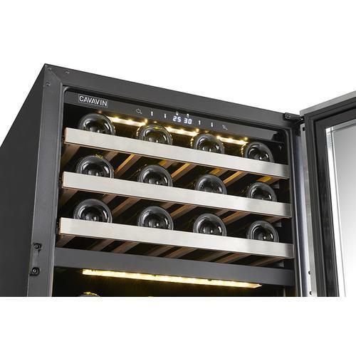 Built-in/freestanding Wine Cellar 24 Bottles Capacity - Dual Zone