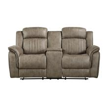 View Product - Double Reclining Love Seat with Center Console