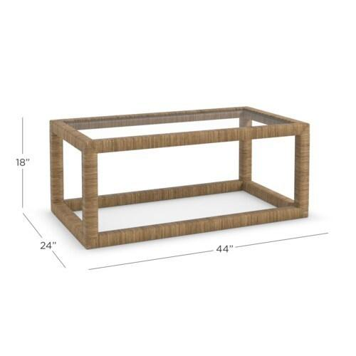 Gallery - Seychelles Rectangular Cocktail Table