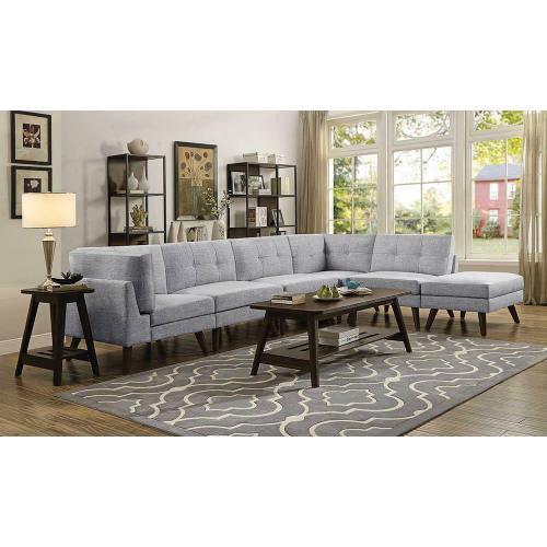 See Details - Churchill Modern Grey Armless Chair