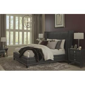 LEAH - GRANITE Queen Bed 5/0