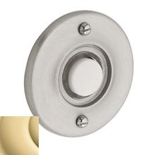 Non-Lacquered Brass Round Bell Button