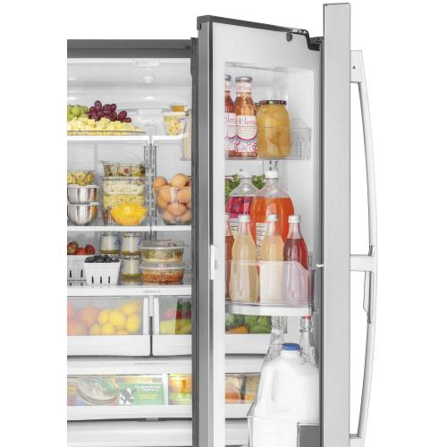 GE® 27.7 Cu. Ft. Fingerprint Resistant French-Door Refrigerator with Door In Door