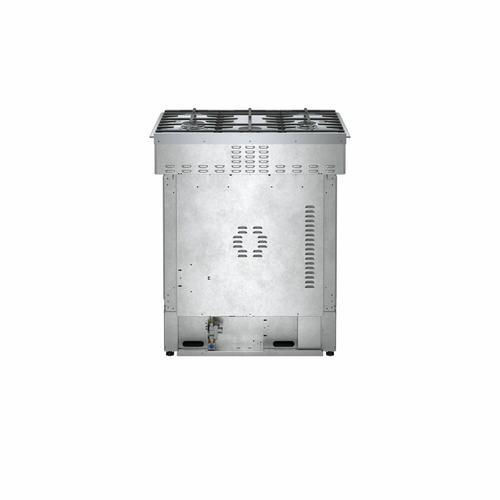 Bosch - 800 Series Dual Fuel Slide-in Range 30'' Stainless Steel HDI8056U