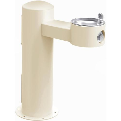 Elkay Outdoor Fountain Pedestal Non-Filtered Non-Refrigerated, Beige