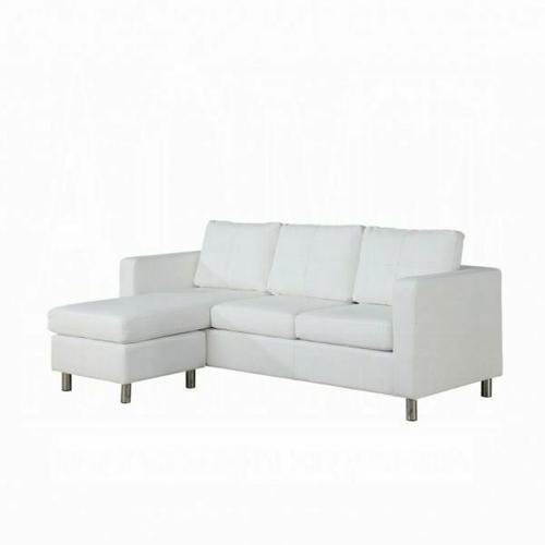 ACME Kemen Sectional Sofa - 15068 - White PU