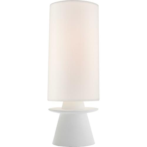 AERIN Livia 25 inch 60 watt Plaster White Table Lamp Portable Light, Small