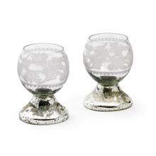 View Product - Set of Two Small Crystal Ball