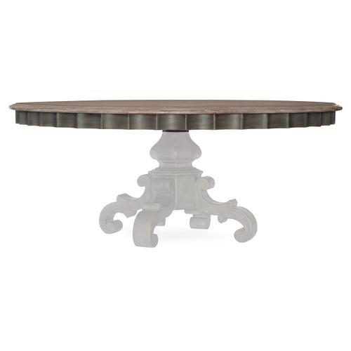 Hooker Furniture - Arabella 72in Round Pedestal Dining Table Top