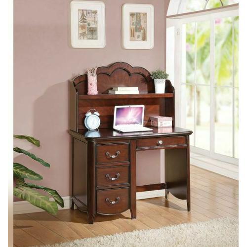 ACME Cecilie Computer Desk - 30287 - Cherry