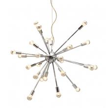 Physics Ceiling Lamp Chrome