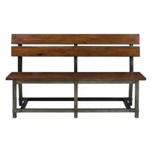 See Details - Bench with Back
