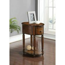 ACME Peniel Side Table - 80506 - Dark Oak