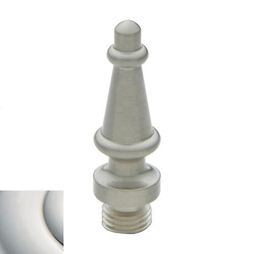 Polished Nickel with Lifetime Finish Steeple Finial