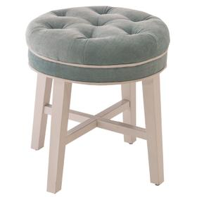 Sophia Backless Vanity Stool - Spa