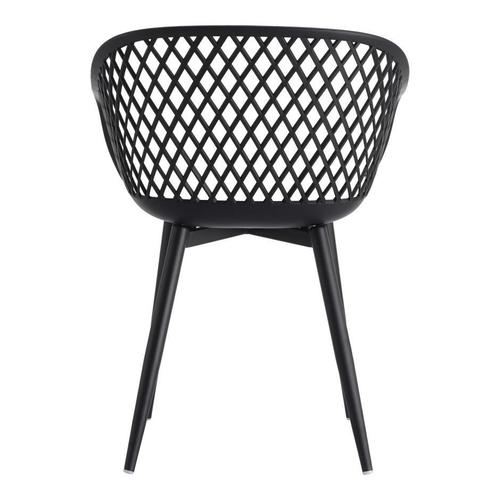 Moe's Home Collection - Piazza Outdoor Chair Black-m2