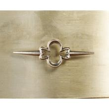 See Details - Sanctuary Three-Drawer Shaped Front Gold Chest