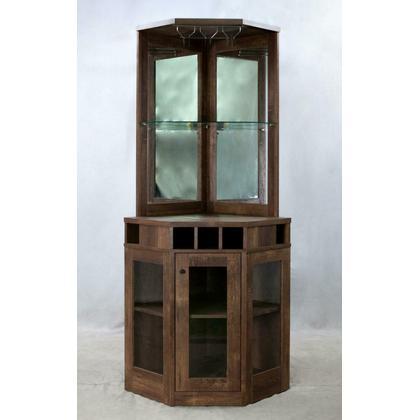 Corner Bar Cabinet