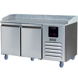 U-Line2 Door Pizza Prep-table Refrigerator With Stainless Solid Finish (115v/60 Hz Volts /60 Hz Hz)