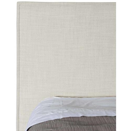 California King-Sized Sawyer Upholstered Bed in Morel