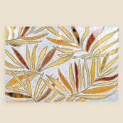 Mosaic Palm Fronds on Canvas Wall Art