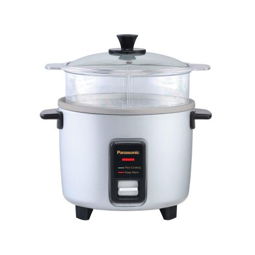 10 Cup (uncooked) Automatic Rice Cooker and Vegetable Steamer - Silver - SR-Y18FGJL