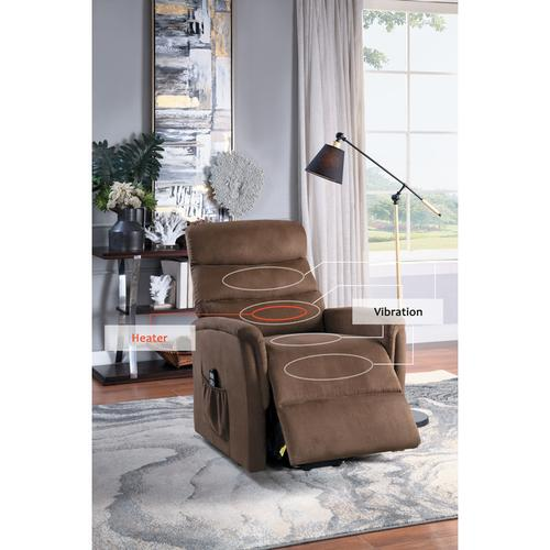 Homelegance - Power Lift Chair with Massage and Heat