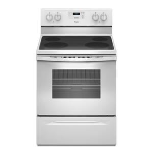 Whirlpool4.8 Cu. Ft. Freestanding Electric Range with FlexHeat Dual Radiant Element White