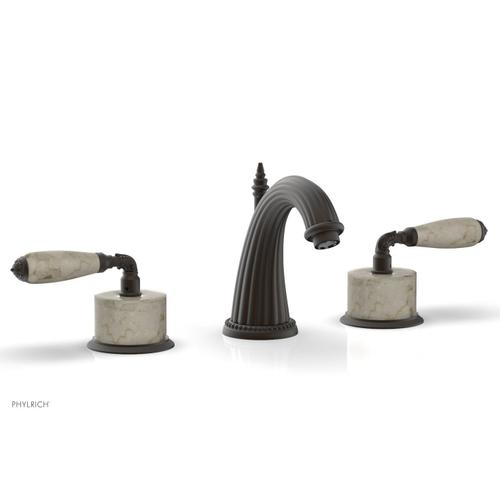 VALENCIA Widespread Faucet Beige Marble K338D - Oil Rubbed Bronze