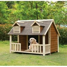 ACME Rufus Pet House - 98210 - Cream & Oak