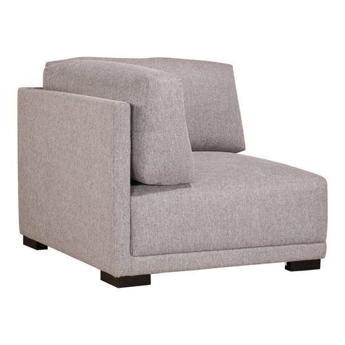 Moe's Home Collection - Romeo Corner Chair Grey