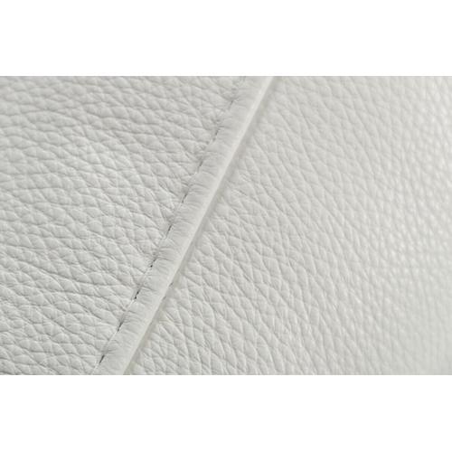 VIG Furniture - Estro Salotti Evita Modern White Italian Leather Sofa Set